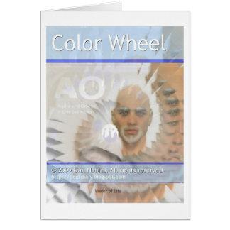 color wheel 3 cards