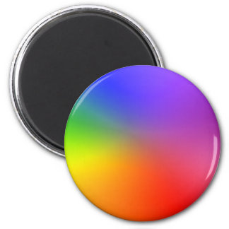 Color Wheel: Abstract Colors Magnet