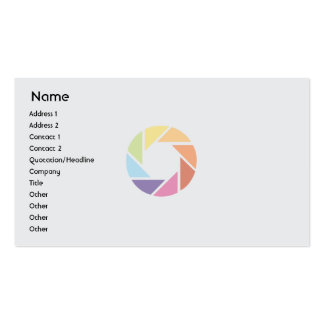 Color Wheel - Business Business Card
