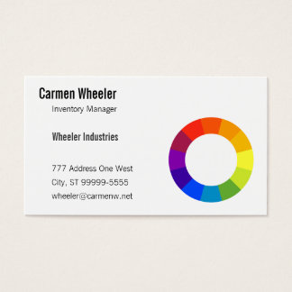 Color Wheel Business Card