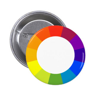 color wheel pinback button