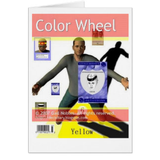 Color Wheel Card