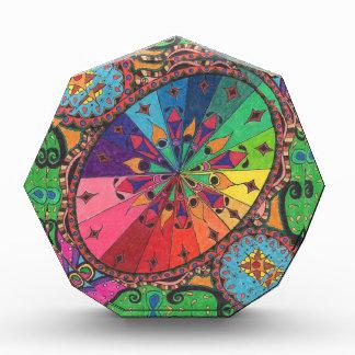 Color Wheel Design Acrylic Award