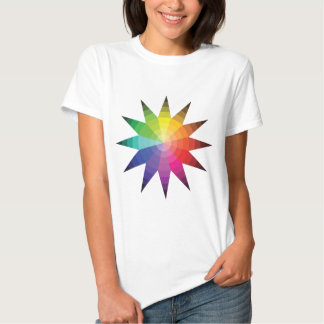 Color Wheel Explosion Shirts