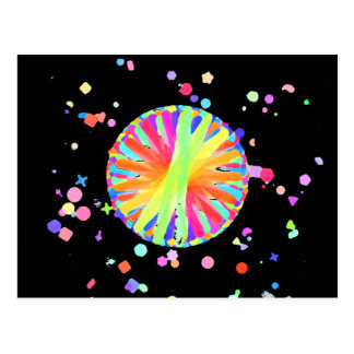 Color Wheel Gone Wild Post Cards