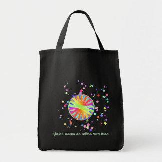 Color Wheel Gone Wild Tote Bag