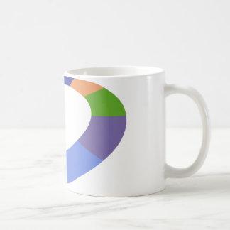 Color Wheel Icon Classic White Coffee Mug