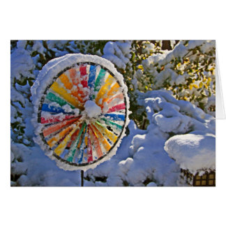 Color Wheel in the Snow Cards