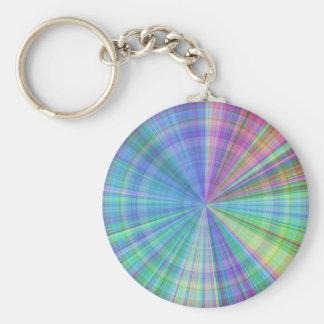 color wheel intense color varitations keychain