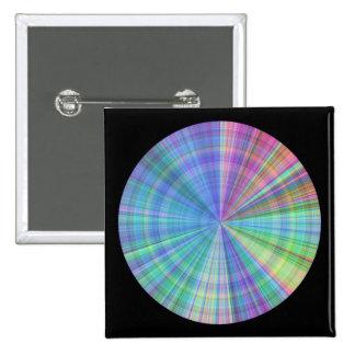 color wheel intense color varitations pinback button