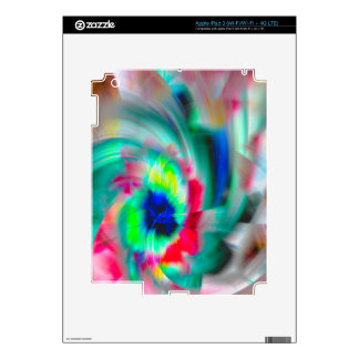 Color Wheel iPad 3 Decal