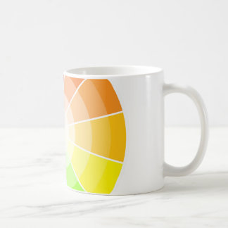 Color wheel light coffee mug