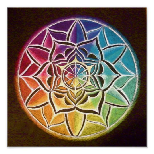 Mandala Frame Wall Art
