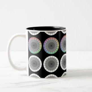 Color Wheel Modern Design Contemporary Mug