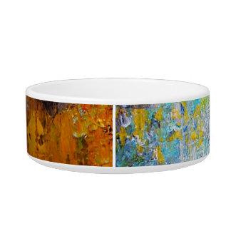 Color Wheel Pet Water Bowl