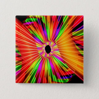 Color Wheel Pinback Button