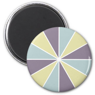 Color Wheel / Rays custom magnets