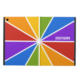 Color Wheel / Rays custom monogram cases
