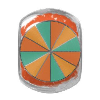 Color Wheel / Rays custom tins & jars Glass Jars
