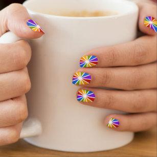Color Wheel Nail Art Nail Wraps Zazzle
