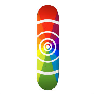color wheel skateboard