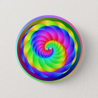 Color Wheel Spiral Button