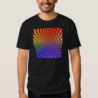 Color Wheel Spiral: T-Shirt