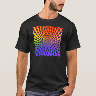 Color Wheel Spiral: T-Shirt