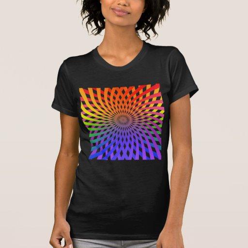 Color Wheel Spiral: Tshirt