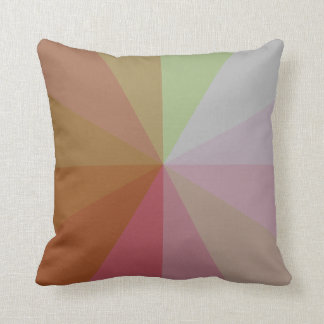 Color Wheel Variation Throw Pillow