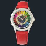 """Color Wheel Watch<br><div class=""""desc"""">For the artist,  or the young at heart,  in all of us.</div>"""