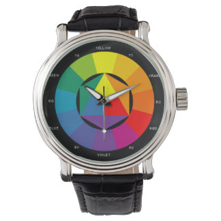 Color Wheel Watch