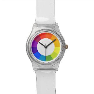 Color Wheel Watch (multicolored)