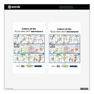 """""""Color-With-Me"""" Adventure Skin For Kindle Fire"""