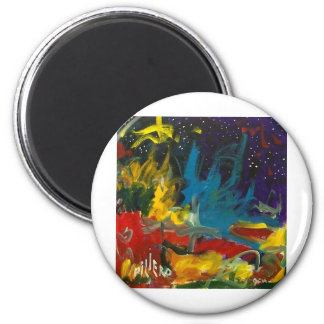 Color Within by Piliero 2 Inch Round Magnet