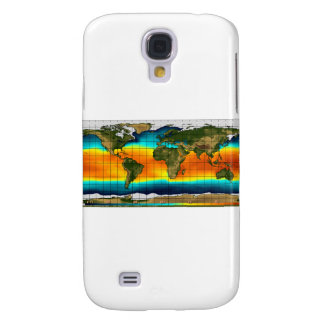 COLOR WORLD MAP SAMSUNG GALAXY S4 CASE