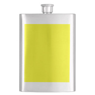 color yellow flask
