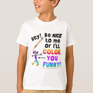 Color You Funny.png T-Shirt