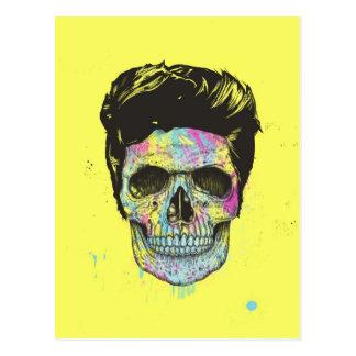 Color your death postcard
