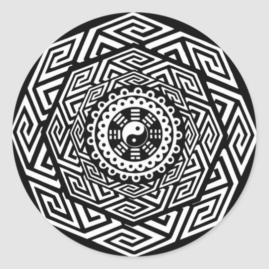 Color Your Own Mandala Stickers