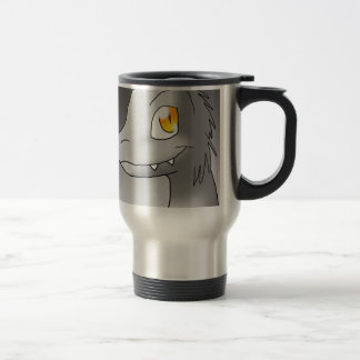 Color your Own Microraptor Travel Mug