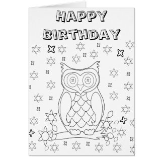 Coloring Pages Greeting Cards | Zazzle