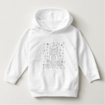 Color Your Own Owl DIY Hoodie