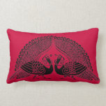Color Your Own Peacocks Pillow