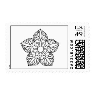 Color Your Own Postage Stamp!