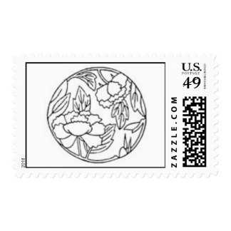 Color Your Own Postage Stamp 2!