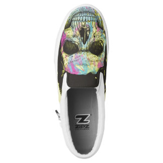 Color your skull Slip-On sneakers