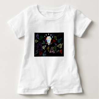 color your world baby romper