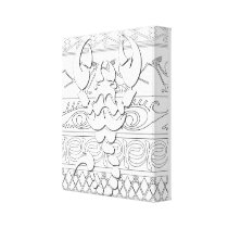 Color Yourself Southwest Scorpion Wall Canvas