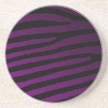 Color Zebra Striped Coasters